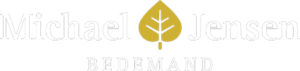 Bedemand Michael Jensen logo