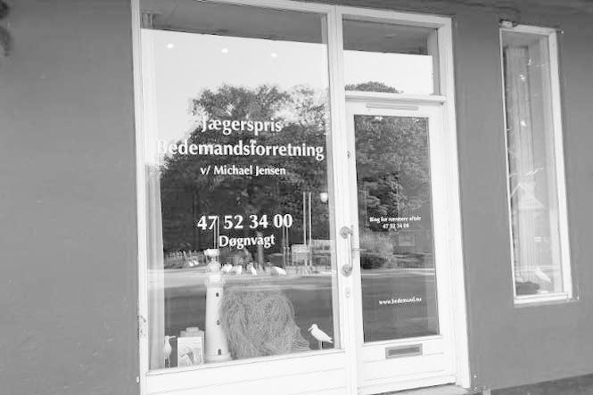 Jægerspris Bedemandsforretning